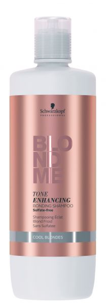 Blondme Enhancing Bonding Shampoo cool, 1000ml