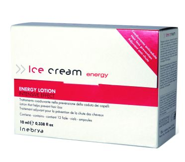 Inebrya Energy Lotion, 12 x 10 ml