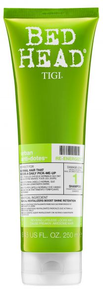 BED HEAD RE-ENERGIZE SHAMPOO, 250 ml