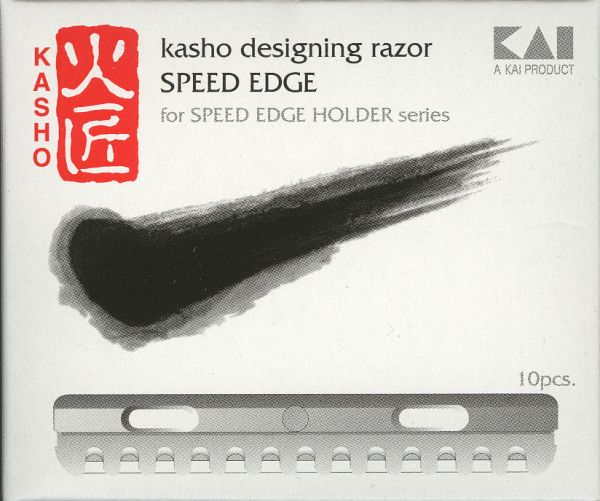 Klingen f. Kasho Speed Edge Razor