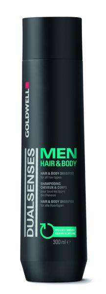 Dual Senses Men Hair&Body Shampoo